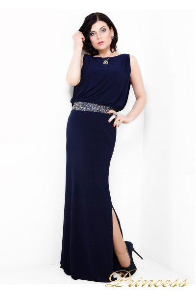 Вечернее платье 1144N (синий)