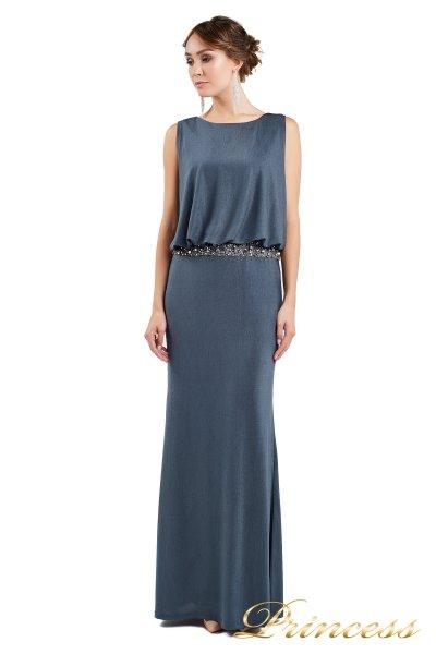 Вечернее платье 1144 dark grey (стальной)