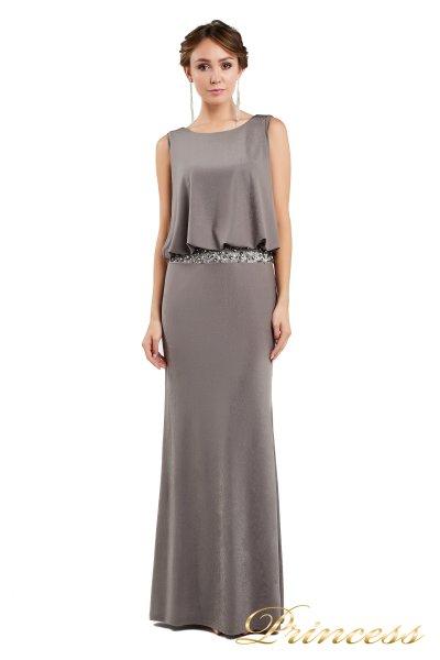 Вечернее платье 1144 dark khika (терракотовый)