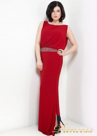 Вечернее платье 1144R (красный)