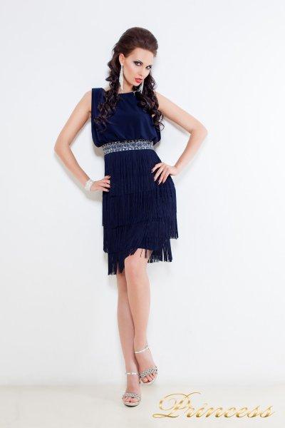 Коктейльное платье 1147 N (синий)