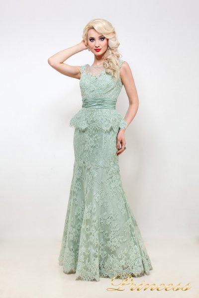 Вечернее платье 114D38 (мятный)