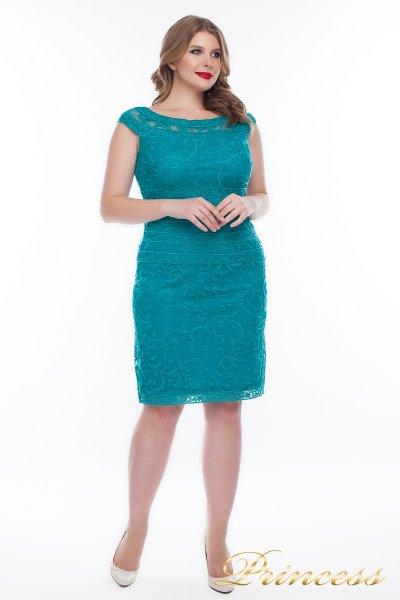 Вечернее платье 1198_teal (зеленый)