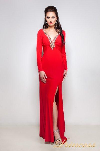 Вечернее платье 12003 (красный)