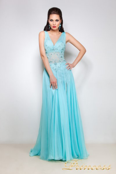 Вечернее платье 12001 (пастельный)