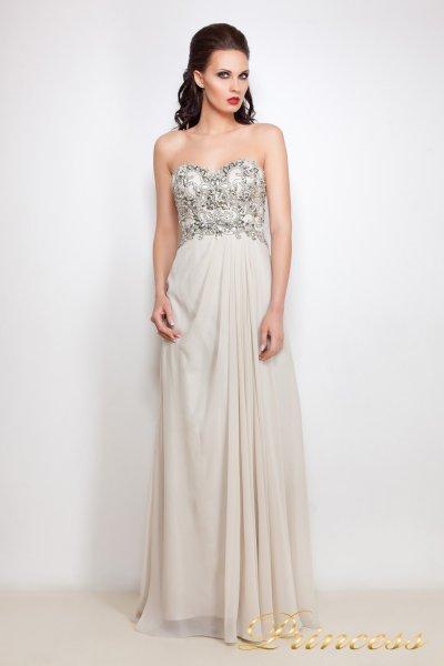 Вечернее платье 12004 (серый)