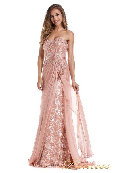Вечернее платье 12012 (розовый)