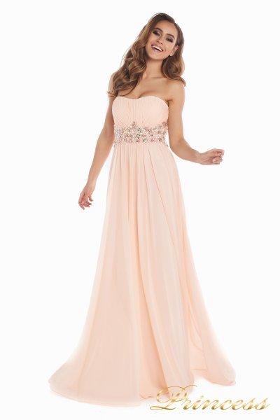 Вечернее платье 12016 (розовый)
