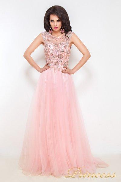 Вечернее платье 12020 (розовый)