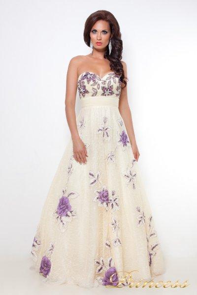 Вечернее платье 12033 (шампань)
