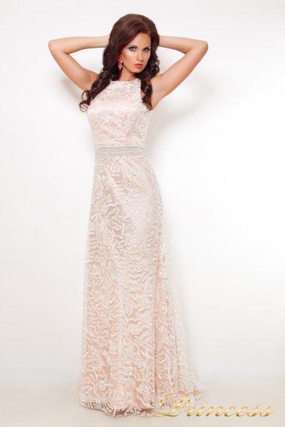 Вечернее платье 12039 (шампань)
