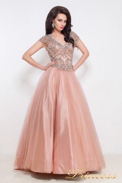 Вечернее платье 12040 (розовый)