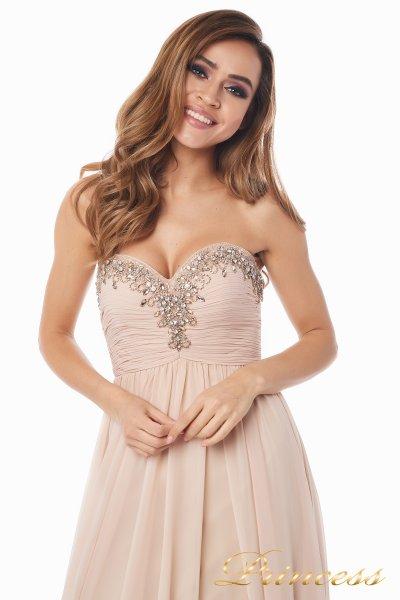 Вечернее платье 12063 (пастельный)