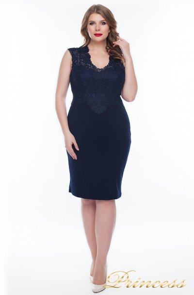 Вечернее платье 1207_navy (синий)