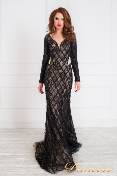 Вечернее платье 12080 (чёрный)