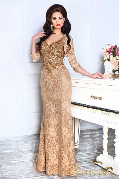 Вечернее платье 12082 (коричневый)