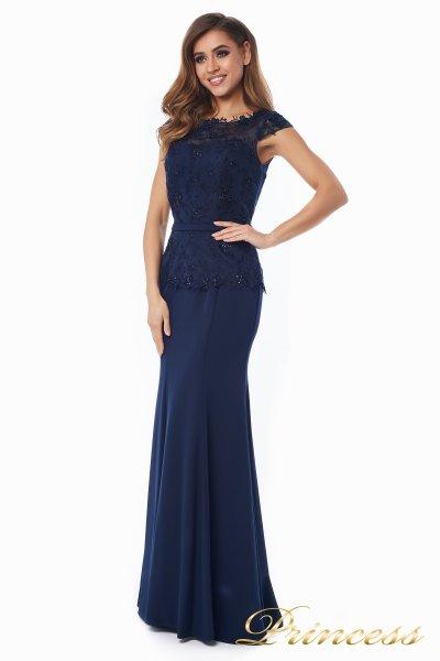 Вечернее платье 12084-1 navy (синий)