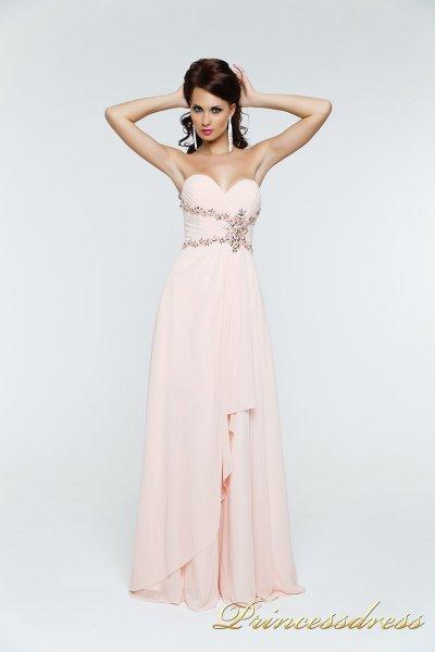 Вечернее платье 121135 (розовый)