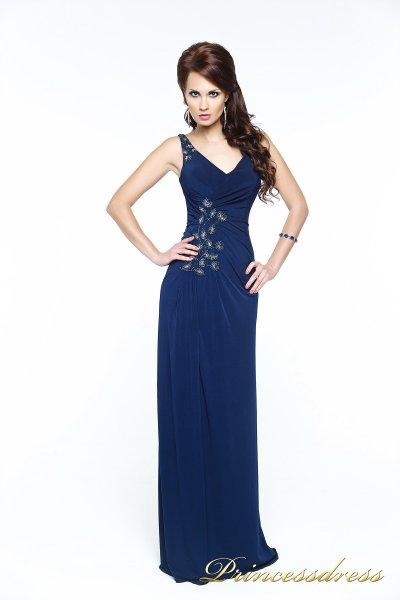 Вечернее платье 121163 (синий)