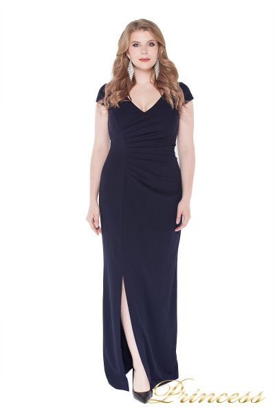 Вечернее платье 1235 navy