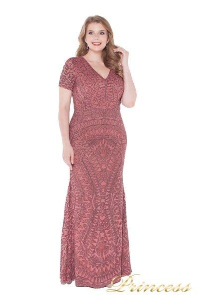 Вечернее платье 1236 pink (розовый)
