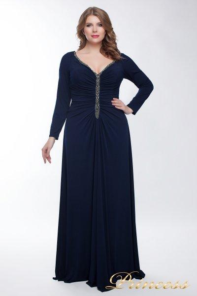 Вечернее платье 13218_navy (синий)