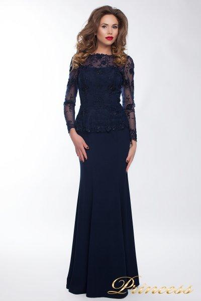 Вечернее платье 13526 navy smal (синий)
