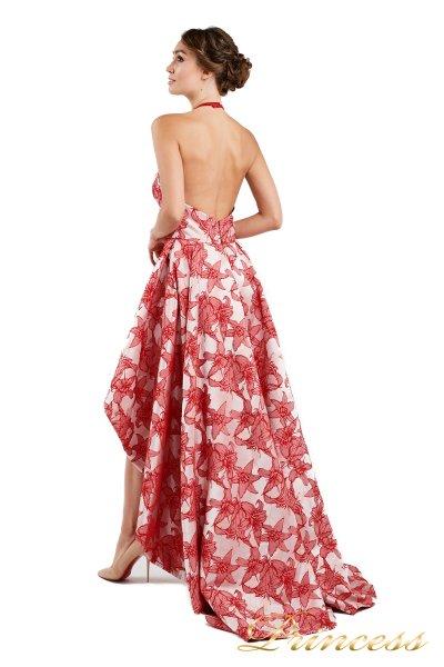 Вечернее платье 13611 red (цветочное)