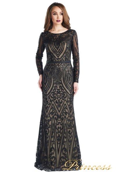 Вечернее платье 13680 (чёрный)