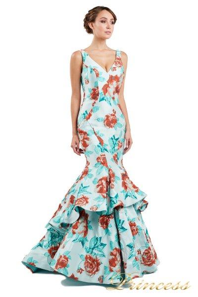 Вечернее платье 13895  (мятный)