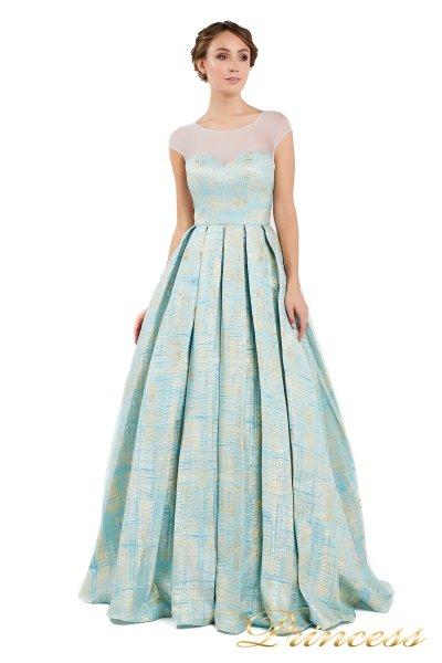 Вечернее платье 13897 (мятный)