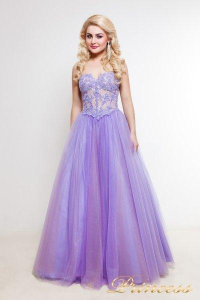 Вечернее платье 1391 (сиреневый)