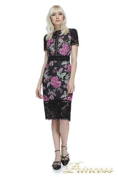 Вечернее платье Tadashi shoji BAW17712M BLACK (чёрный)
