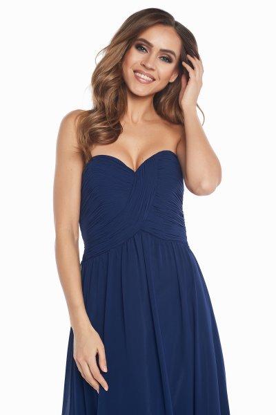 Вечернее платье 140012 (синий)