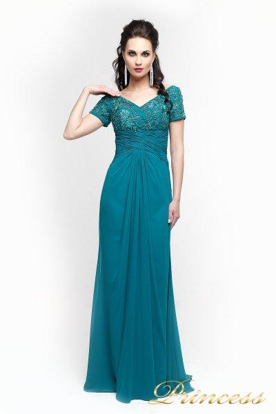 Вечернее платье 140951 (зеленый)