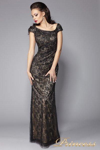 Вечернее платье 14244 (чёрный)