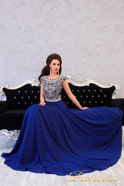 Вечернее платье 151232 (синий)
