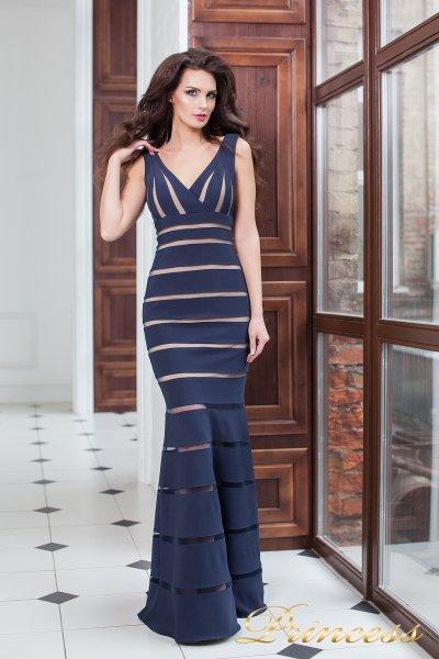 Вечернее платье 16003 navy