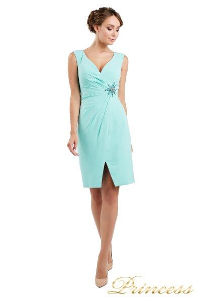 Коктейльное платье 1701 aqua (мятный)
