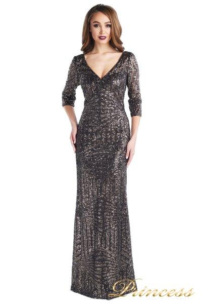вечернее платье 17055 (чёрный)
