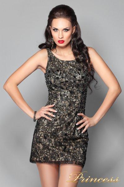 Коктейльное платье 171740 (чёрный)