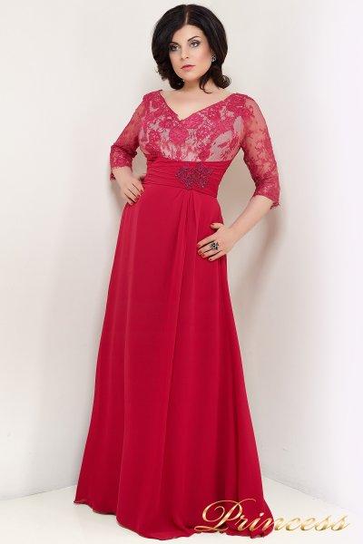 Вечернее платье 1768R (фуксия)