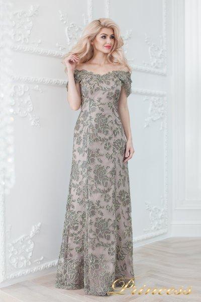 Вечернее платье 1836 grey (серый)