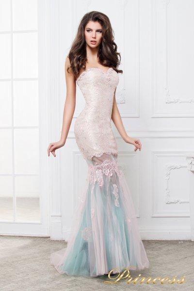 Вечернее платье 195 (золото)