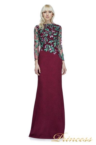 Вечернее платье Tadashi Shoji BAF16206LXY WINE (wine)