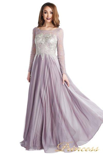 Вечернее платье 20245-171 gray (розовый)