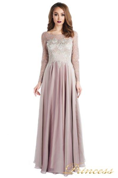 Вечернее платье 20245-186 pink (персиковый)