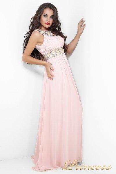 Вечернее платье 206P (розовый)