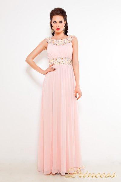 Вечернее платье 213127P (розовый)
