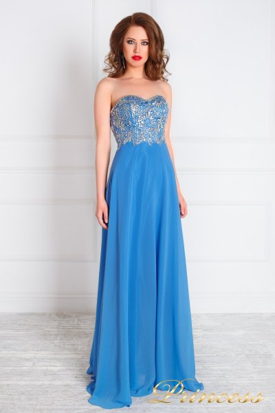 Вечернее платье 213191 (синий)